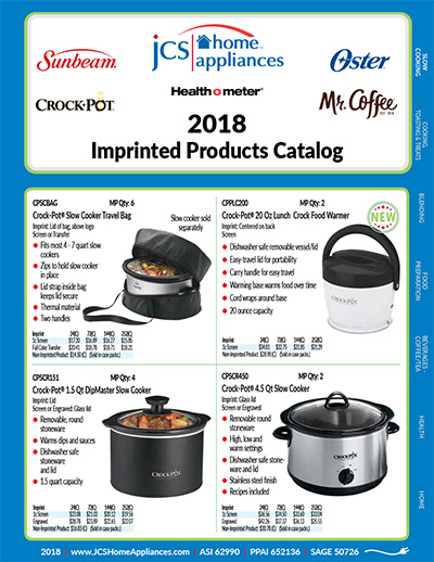 JCS 2018 Imprinted Catalog