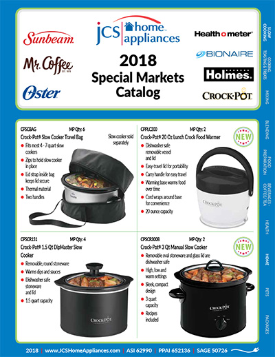 JCS Home Appliances 2018
