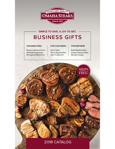 Omaha Steaks 2018 Brochure