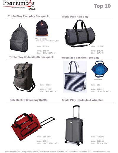 Premium Bag 2018 Top 10