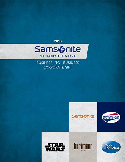 Samsonite 2018 Catalog