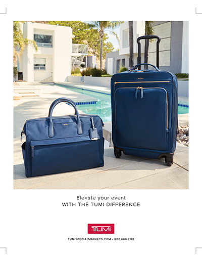 Tumi Special Markets Fitting Event Brochure - 2018